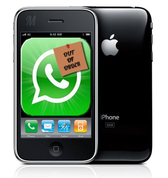 ¿Whatsapp no funciona en los Iphone 3g? Aquí tienes la solución
