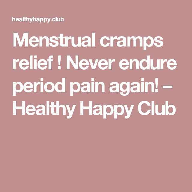 Necessary menstrual cramps anus pain understand you