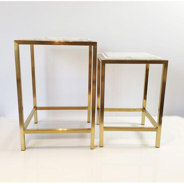 Gold Side Table Modernsidetables Modern Design Livingroomdesign Tables Moderndesignideas Living Room