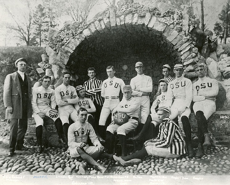 1890 1ST TOSU FOOTBALL TEAM Ohio State University Football Wallpaper | blog.blockonation.comabout Ohio State football