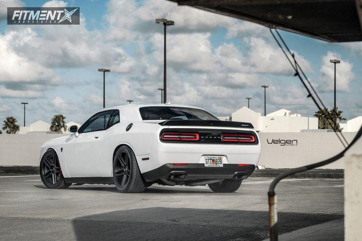 3 2016 Challenger Dodge Kw Lowering Springs Velgen Split5 Black