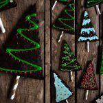 Vegane Brownies oder auch Weihnachtsbrownies - Vegan Mom