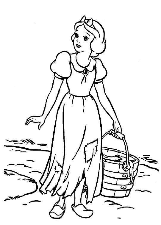 Activity Princess Snow White Coloring Pages