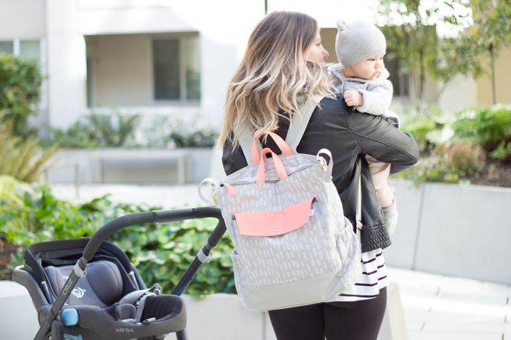 """When I was pregnant I remember browsingAmazon in search of theperfect diaper bag. You know,something cute but also functional. Something that said """"cool mom"""" but still had room for a…"""
