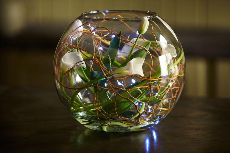 17 Best Images About Bubble Bowls Fish Bowl Centerpieces On Pinterest Glass Centerpieces
