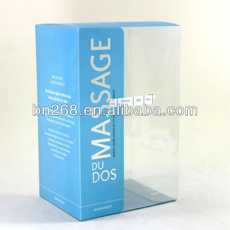 clear packing boxes for sale $0.25~$0.35