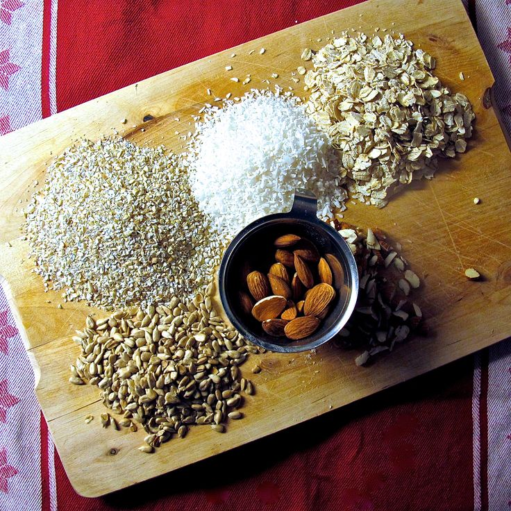 Granola ingredienser