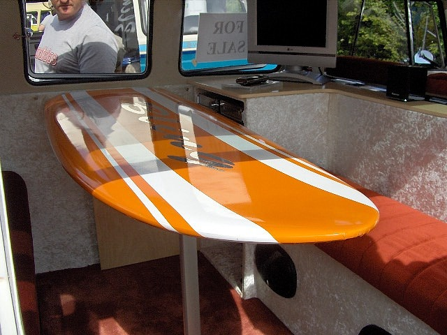 This will be my table in my camper...