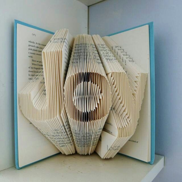 Joy   Home Decor   Holiday   Folded Book Art   Decorative Arts    Inspirational   Book Sculpture   Unique Gift