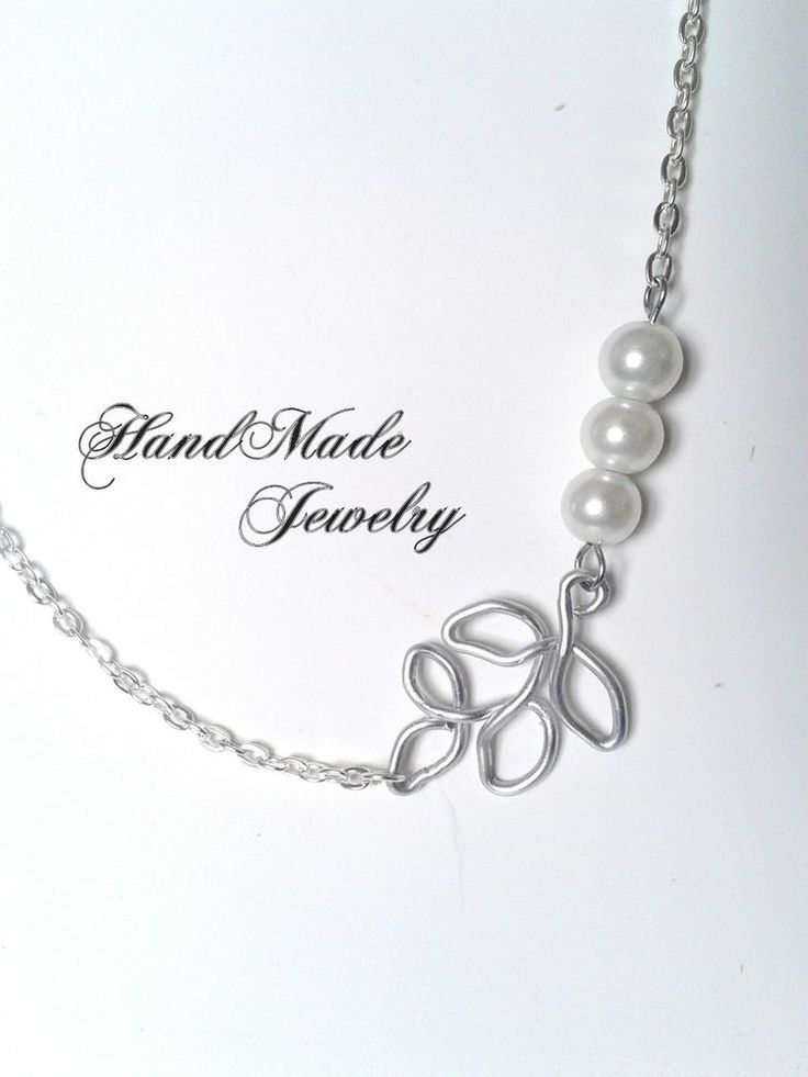 HandMade Necklace with glass pearls specially for Mother's Day