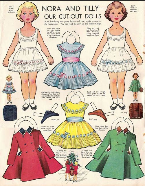 NORA AND TILLY   TWINS in Woman and Home Magazine, UK   DRESSING UP TO GO TO THE PANTOMIME