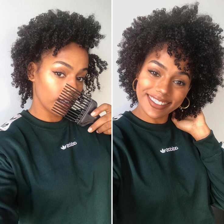 "4,765 Likes, 69 Comments - Davina  (@thelondoncurls) on Instagram: ""Before and after... God bless the afro pick  For my curls to remain defined, I clump them…"""