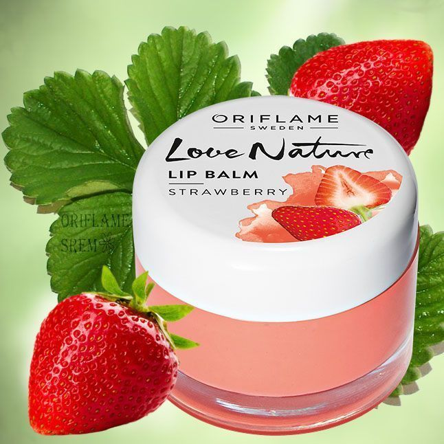 Oriflame Love Nature Lip Balm - Strawberry Zapraszam do odwiedzenia International-shop-uk -Ponad 600 produktow -Promocja BUY 2, GET 1 AT 50% OFF* -Wybrane produkty dostawa FREE http://stores.ebay.co.uk/rysiek1979