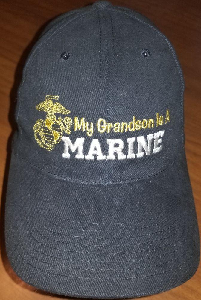 Black United States Marines Corps USMC EGA Marine Baseball Mesh Trucker Cap  Hat  fashion   62fcccf3e0a