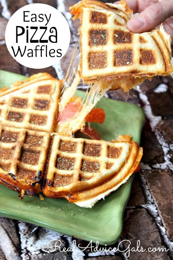 You have to try this oh so delicious Pizza Waffles Recipe! Super easy to make, yummy and the whole family will love it!