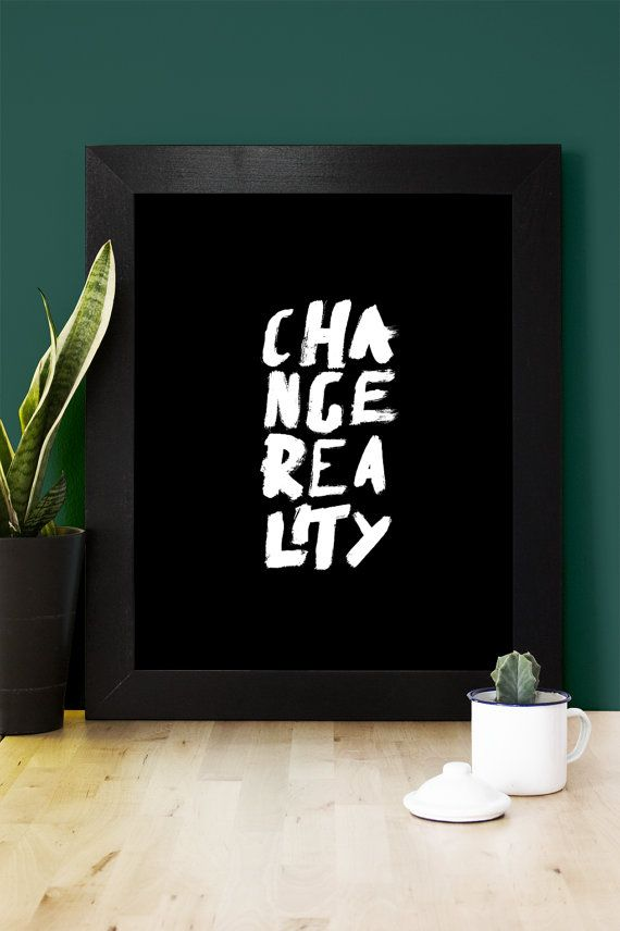 Typographic poster 40cm x 50cm Greek Philosophy by MessProject #Greekphilosophy #handwritten #poster #reality
