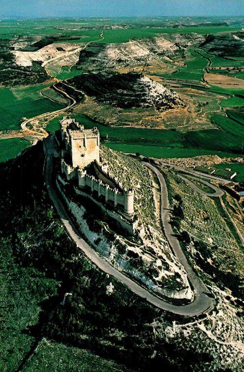 Peñafiel Castle . Spain