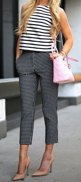 Black&White + pattern