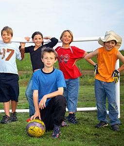 Voetbalfeestje - Kinderfeestje thuis