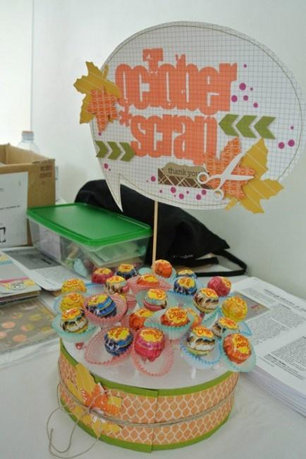 idea for lollipop cake