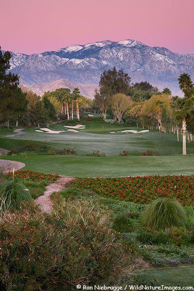 Indian Wells Golf Resort, near Palm Springs,  Indian Wells, California  #beautiful #golfcourse #golf