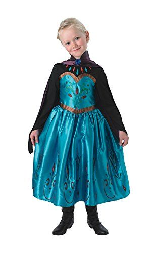 From 18.68 Rubie  s Official Frozen Coronation Elsa Girls Fancy Dress  Disney Fairytale Kids Childrens Costume  5e735eb359ba1