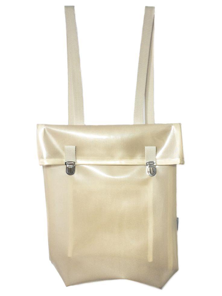 Minimalizm, semi transparent, waterproof backpack BORBA