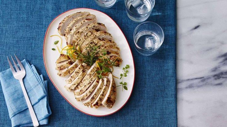 Citrus-Marinated Turkey Breast Recipe