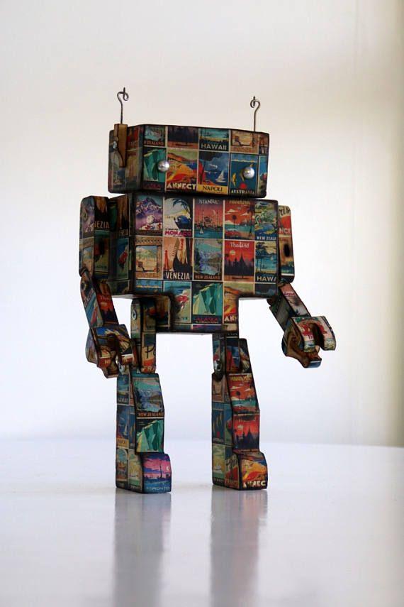 Travel Poster Robot
