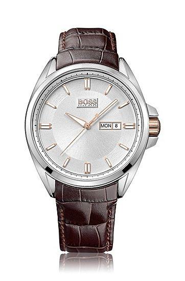 Orologio da polso 'HB301' con cinturino in pelle, Assorted-Pre-Pack