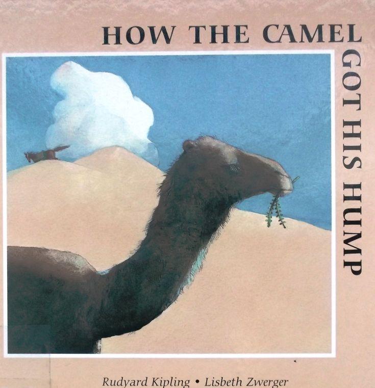 """""""Як у верблюда виріс горб"""" - історія відомого англійського автора Редьярд Кіплінга, наймолодшого лауреата Нобелівської премії з літератури. У казочці автор відправляє нас у часи, коли світ ще був молодий-молодий, просторово - у пустелю Аравії. Там ми зустрічаємо трьох працьвитих тварин: Коня, Пса та Вола, 1 ліниву - безгорбий Верблюд, а також Людину і Джина.…"""