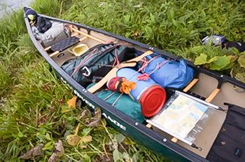 Canoe Kit Fully Lashed down