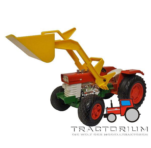 Bull 3480304 Massey Ferguson 165 Traktor mit Frontlader ca. 1/14