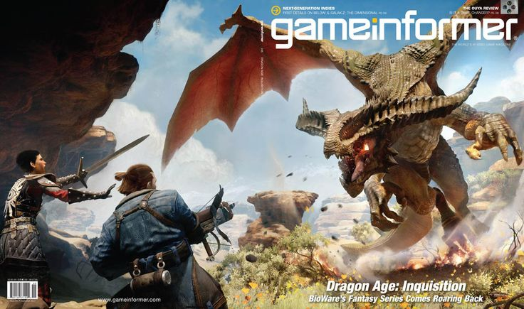 gameinformer dragon age inquisition cover | Dragon Age: Inquisition is today's game informer cover - GameSpot.com