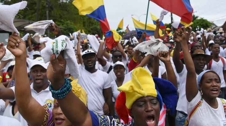 Choco, home to large Afro-Colombian and Indigenous communities, is currently the poorest department in the country. Some 65.9 percent of Choco's population now live below the poverty line, according to Colombia Reports.Photo:AFP