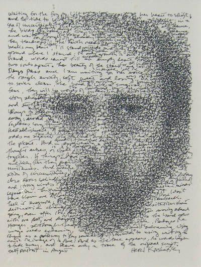 Self portrait by Herzl Kashetsky | http://www.gallery78.com/hkashetzky.htm