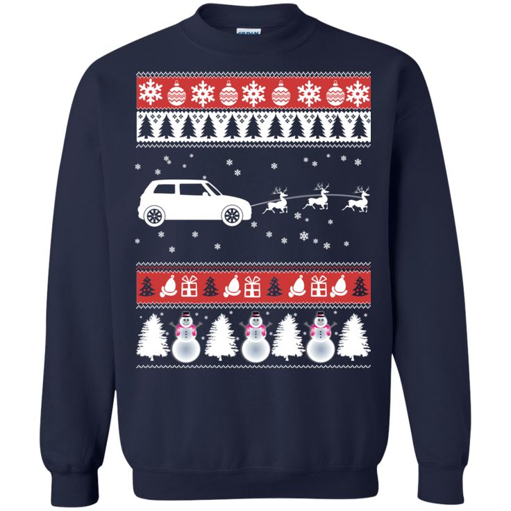 Christmas Ugly Sweater Jeep Hoodies Sweatshirts