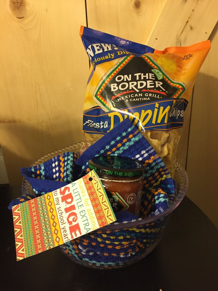 Chips and salsa gift for teacher appreciation day! | The ...