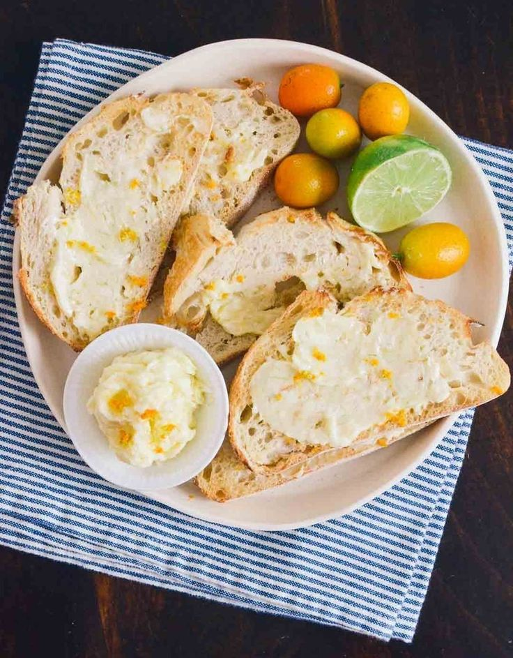 Breakfast Recipe: Inspired Toast with Sweet Citrus Butter Recipes from ...