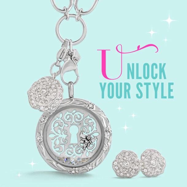 Now available from the Origami Owl fall collection. New window plate for the large locket. Earrings with Swarovski crystals & dangle. #jewelry #lockets