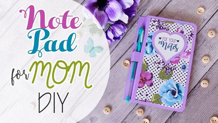 Note Pad DIY - Blocco appunti per la Mamma