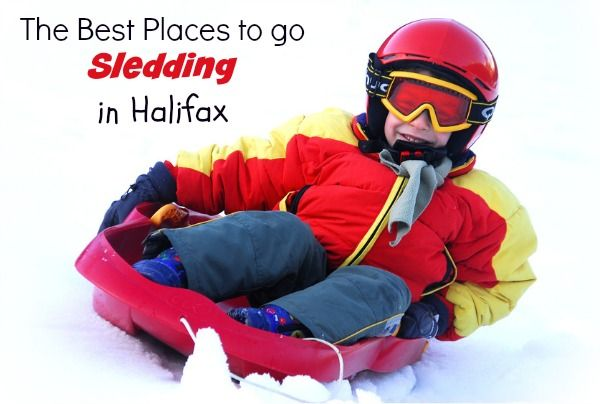 A list of the best places to go sledding in Halifax, plus a link to two fabulous interactive online tobogganing maps.