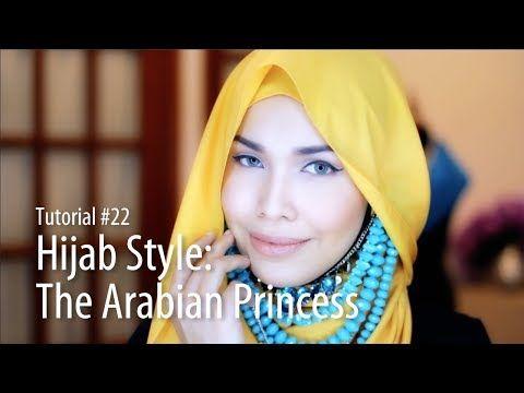 [Adlina Anis] Hijab Tutorial 22 | The Arabian Princess - YouTube