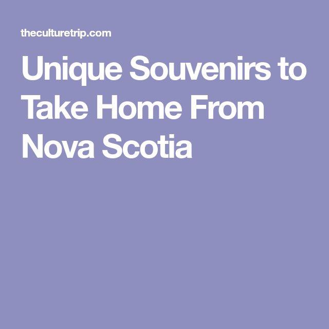 Unique Souvenirs to Take Home From Nova Scotia