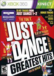 Boxshot: Just Dance Greatest Hits by UbiSoft