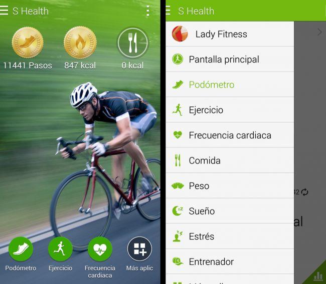 S Health y Gear 2, la app y el smartwatch de Samsung