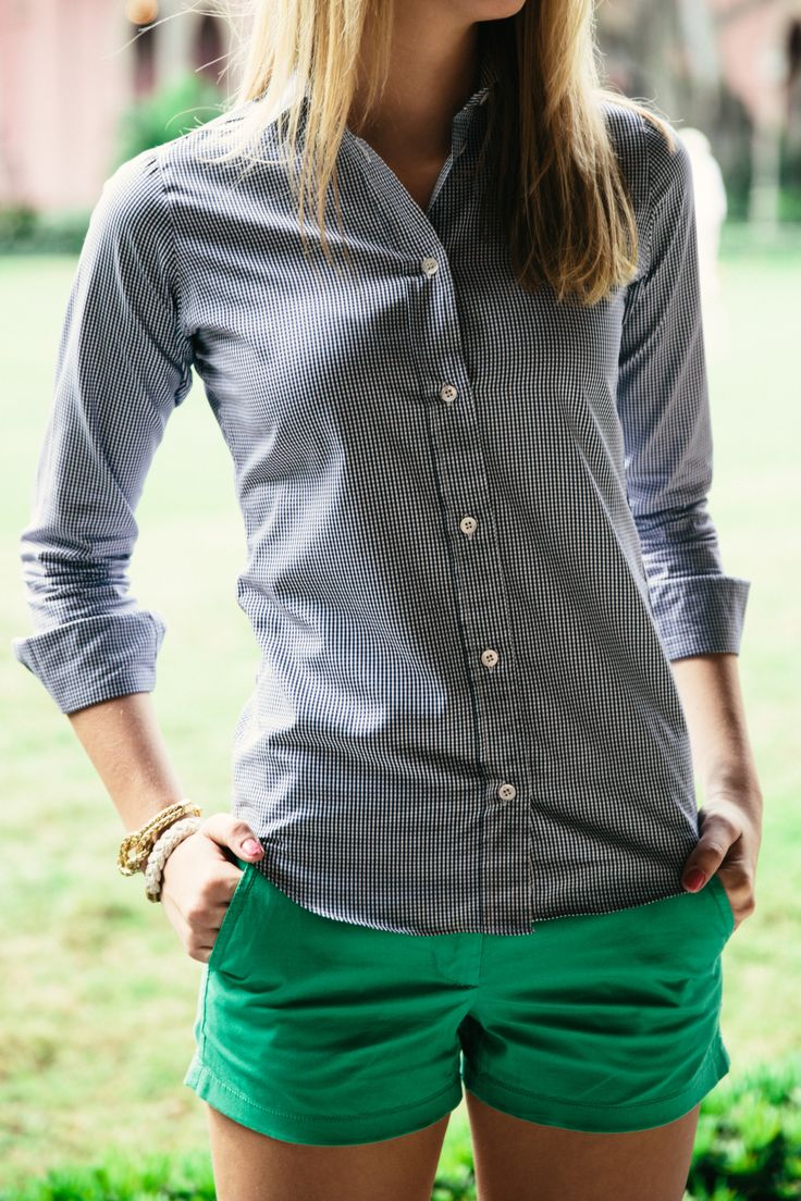 Pair it with a statement necklace/monogram necklace, flats, cute belt, and raybans