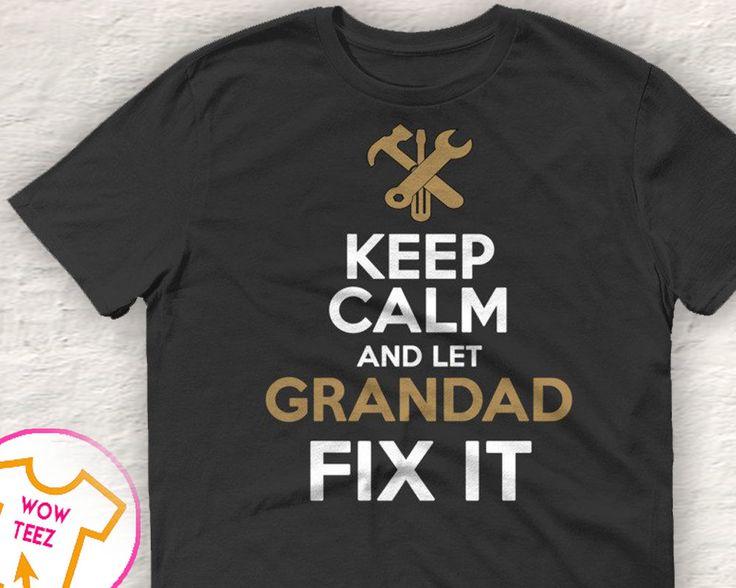 Funny Grandad Tshirt, Funny Gifts for Grandad, Grandad Shirt,  Personalized Grandad, Unique Gift for Grandad, Shirts for Grandad, Customized by WowTeez on Etsy