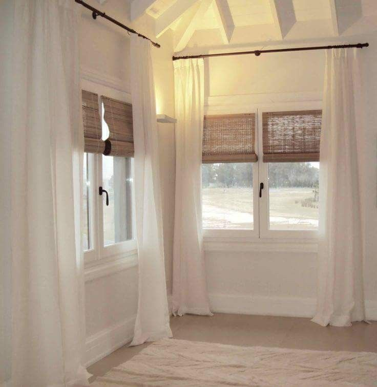 M s de 25 ideas incre bles sobre visillos para ventanas en for Visillos salon