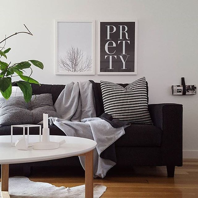 1000 ideas about black couch decor on pinterest